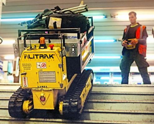 Alitrak Schwerlasttreppensteiger DCT-450