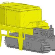Movex Track-O Option Asphalt Container