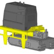 Movex Track-O Option Palette für den Ausrüstungstransport