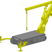 Movex Track-O Option Ausleger-Kran 450kg