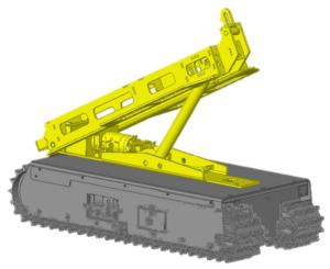 Track-O Greengo - Greengo hydraulische Hebevorrichtung