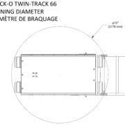 Movex modulares Treppensteiger Raupensystem Track-O Twin-Track 66 Wendekreis