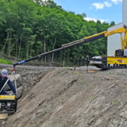 Movex modulares All Terrain Raupensystem Track-O Cross Country - Mini Crawler Crane M7