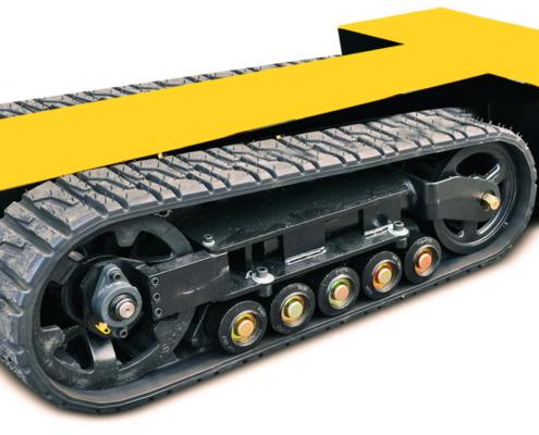 Movex modulares All-Terrain Raupensystem Track-O Heavy Duty