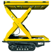 Movex modulares All-Terrain Raupensystem Track-O Heavy Duty - Scherenhubtisch Option
