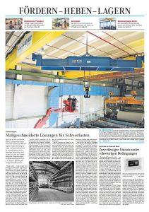Schwerlastregale - Allgemeine Bauzeitung 48/2016
