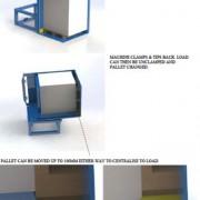 Beispiele Palettenwender, -wechsler und Wendegeräte Installationen